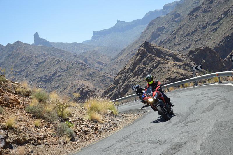Rutas a moto por Gran Canaria