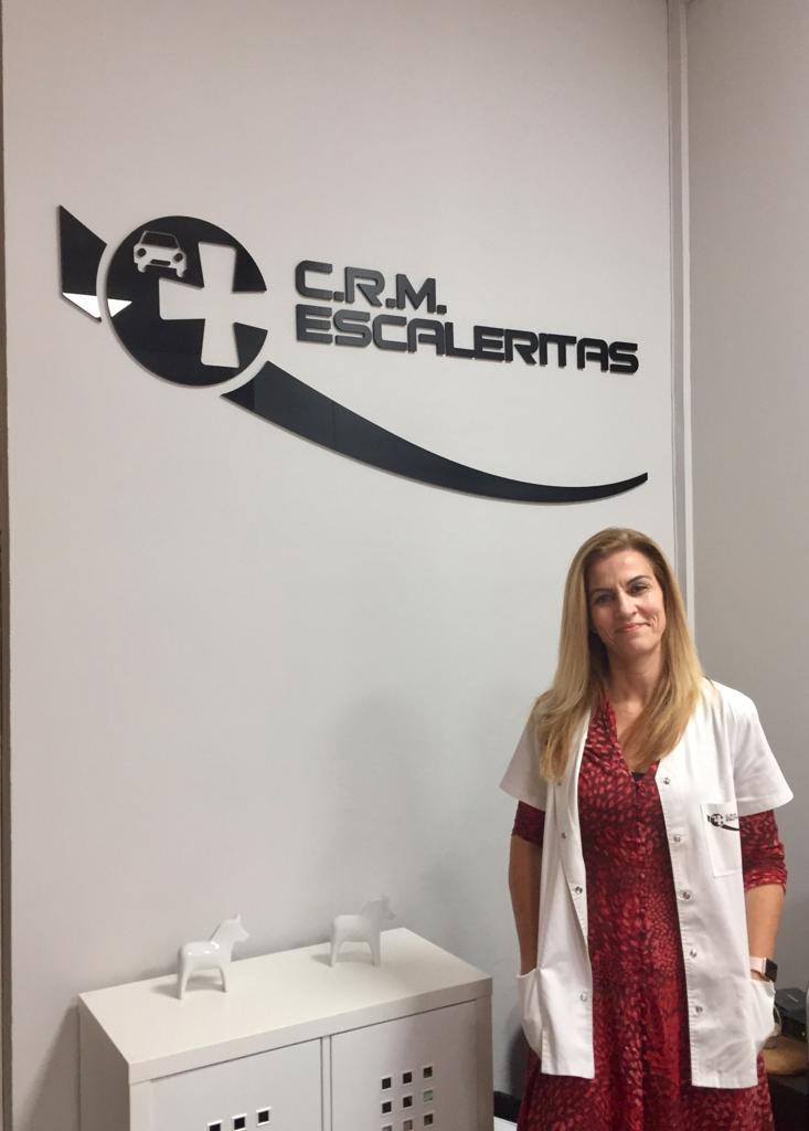 """""""Aquí  todos somos una familia y no creo que hubiese otro sitio donde pudiera estar mejor"""" Verónica Cabrera, directora de Reconocimientos Médicos Escaleritas"""